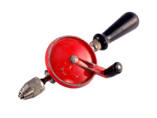 Old hand drill