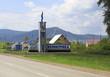 Stella Belokuriha resort town. Altai. Russia.