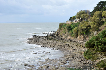 France,  Saint Marc sur Mer in  Loire Atlantique
