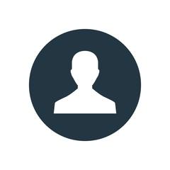 male profile icon.