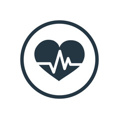 heart pulse icon.