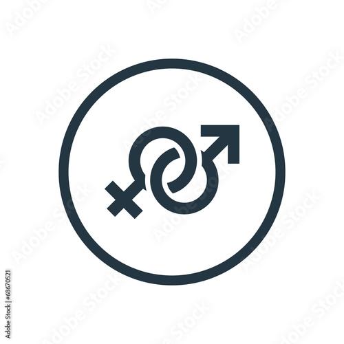 male & female icon.