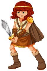 Girl viking