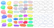 Empty speech templates