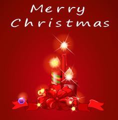 Christmas and candles