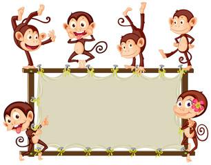 Monkey Banner