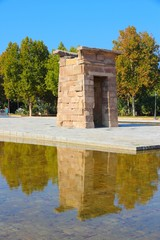 Madrid - Debod temple