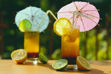 leckere, frische limonade