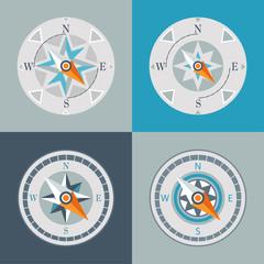 compasses decorative series arrow