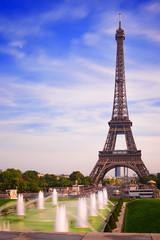 Paris Eiffel Tower from Trocadero