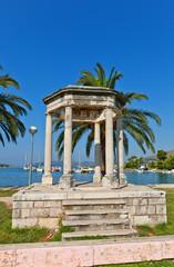 Mormont glory pavilion (1814). Trogir, Croatia. UNESCO site