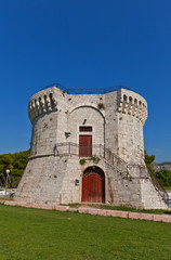 St Mark tower (XV c.). Trogir, Croatia. UNESCO site