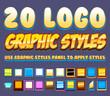 20 Comic Logo Graphics Styles - 68674190