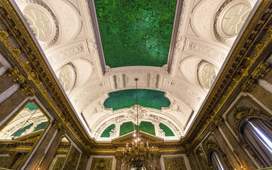 Interiors of Royal Palace, Brussels, Belgium