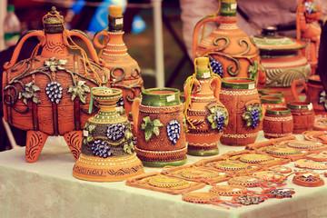 National ceramic jars