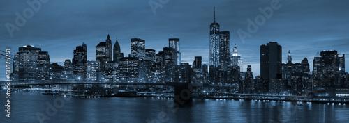 New York City at night - 68675791