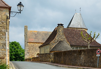 French medieval town Audrix