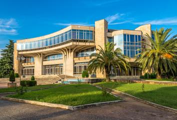 Building Congress Palace in Tirana