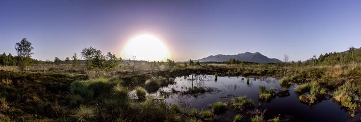 Kendlmühlfilzen Sonnenaufgang