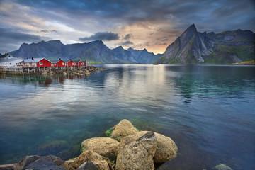Lofoty wyspy Norwegia
