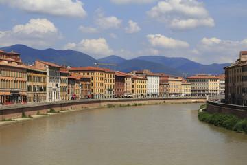 Pisa city view