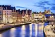 Korenlei embankment in Ghent, Belgium - 68677924