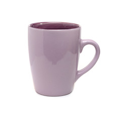 bulk ceramic cup for tea purple
