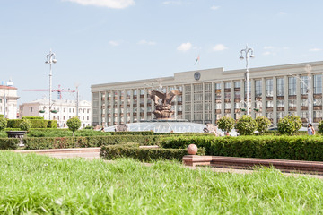Independance Square, Minsk