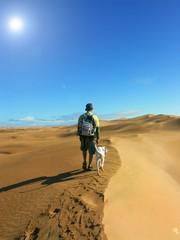 sur une dune