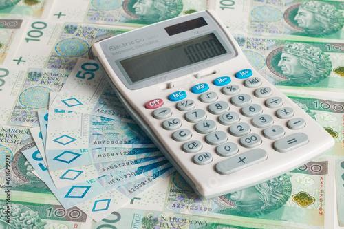 Waluta - pieniądze - faktura - finanse