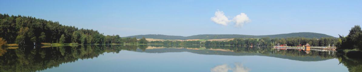 Stausee Hohenfelden - Panorama