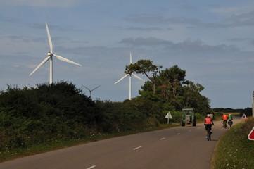 Bretagne à vélo: de Roscoff à la pointe du Raz