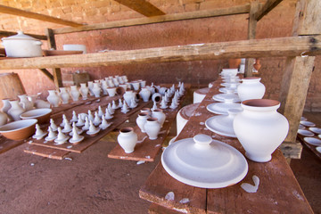 traditional pottery workshop in the Alentejo region