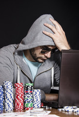Poker online bad beat
