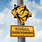 School Overcrowding poster
