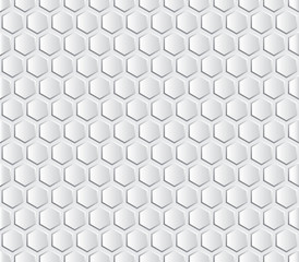 Hexagon design background