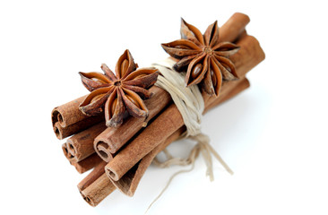 Cinnamon bundle and anice stars