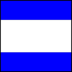 International maritime signal flag