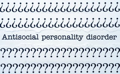 Antisocial pesonality disorder
