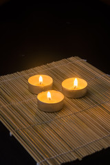 Three Tranquil Candles