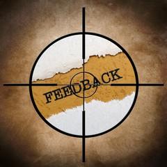 Feedback target