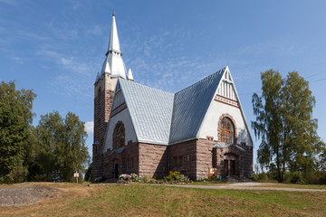 Lutheran Church Melnikovo. Leningrad region.