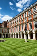 Fountain Court at Hampton Court Palace near London
