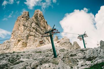 impianti di risalita, seggiovia - Dolomiti d'Ampezzo