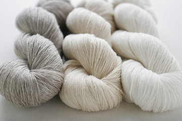 Threads of Natural Linen