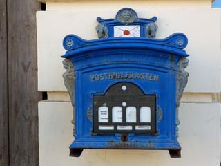Blauer Briefkasten,  Eutin / Schleswig-Holstein