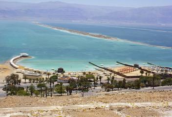 beach on the Dead Sea, Israel