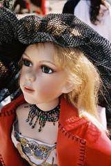 Modische Puppe