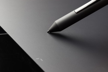 Graphic tablet stylus detail