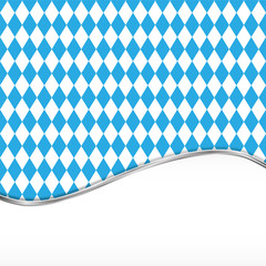 Oktoberfest blue background